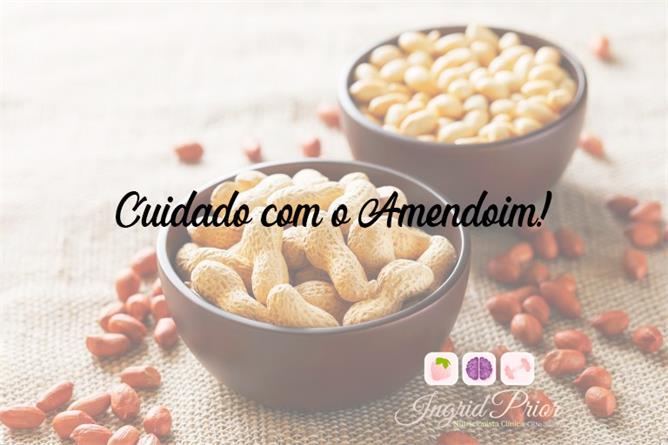 Cuidado com o Amendoim! | Santa Portal