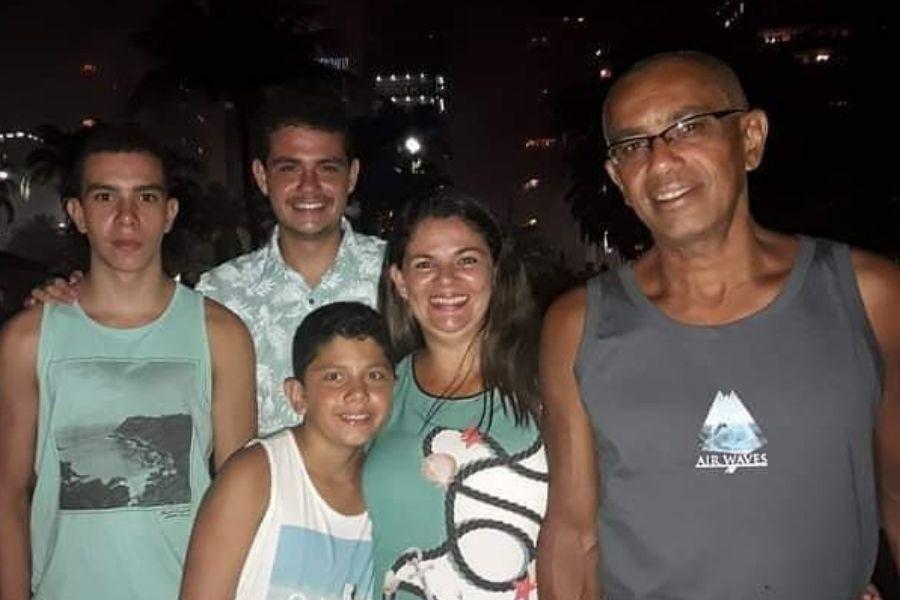 Ronaldo, Elen e filhos