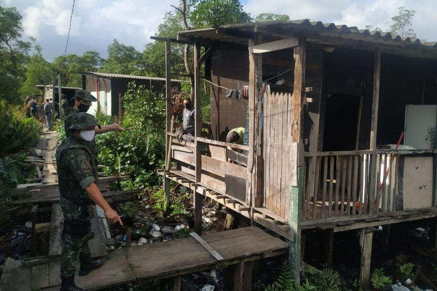 PM Ambiental em Cubatão