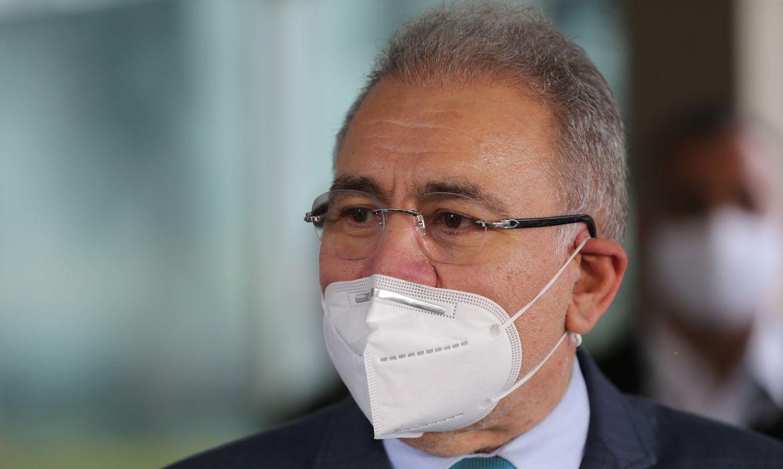 Ministro da Saúde, Marcelo Queiroga, testa positivo para covid-19   Santa Portal