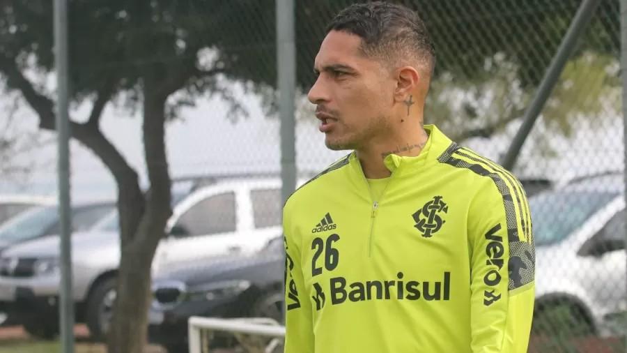 Guerrero é reintegrado a treinamentos com o grupo do Inter   Santa Portal