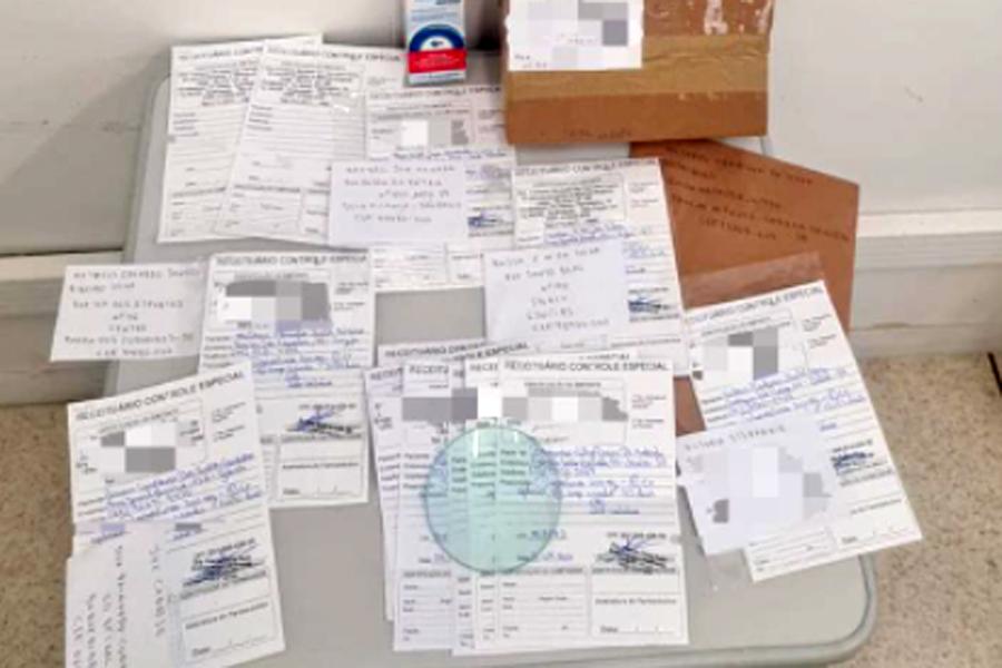 Suspeito de falsificar receitas médicas e vender anabolizantes é preso em Santos   Santa Portal