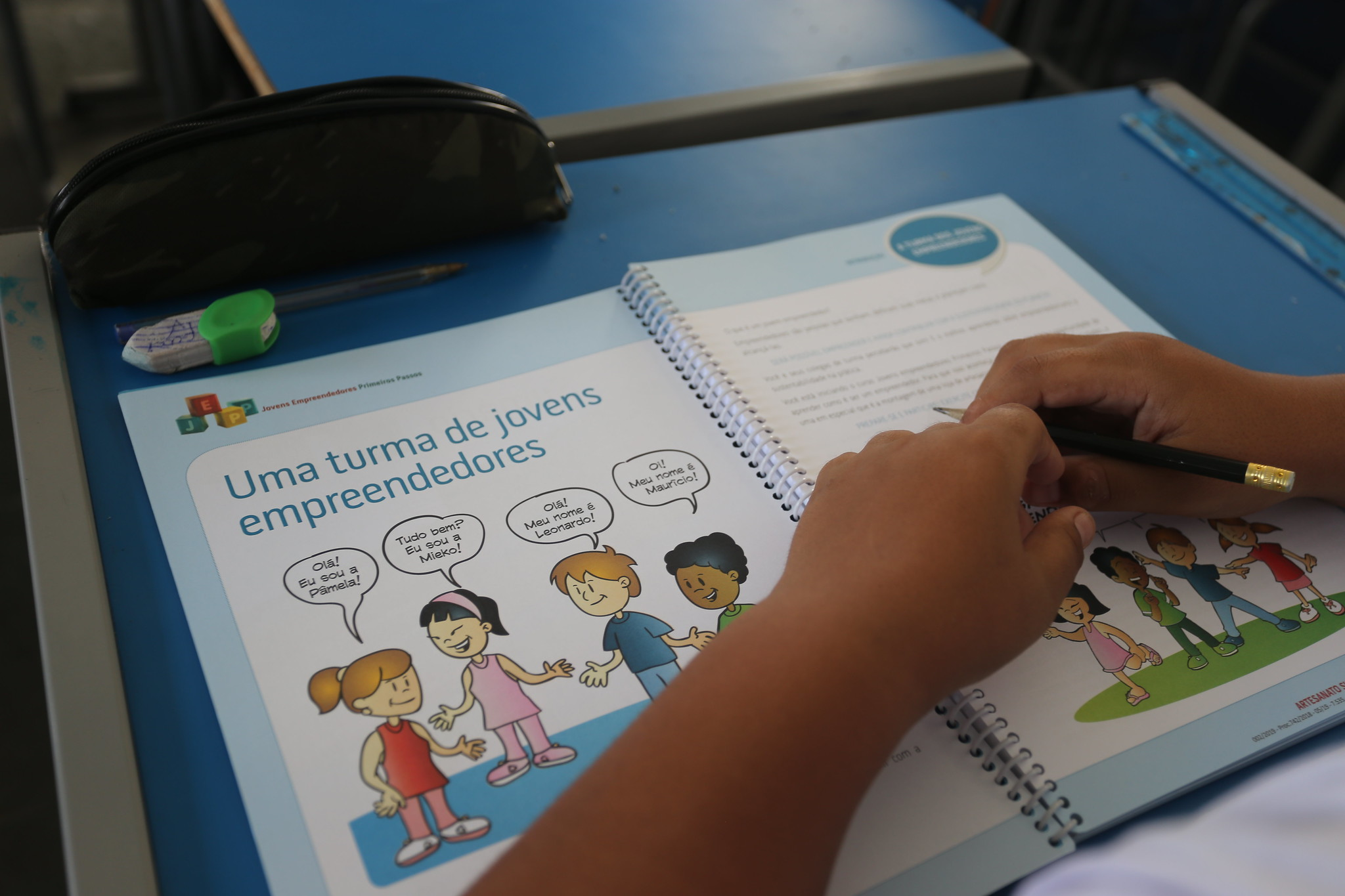 Guarujá capacita 230 alunos em programa voltado ao empreendedorismo   Santa Portal