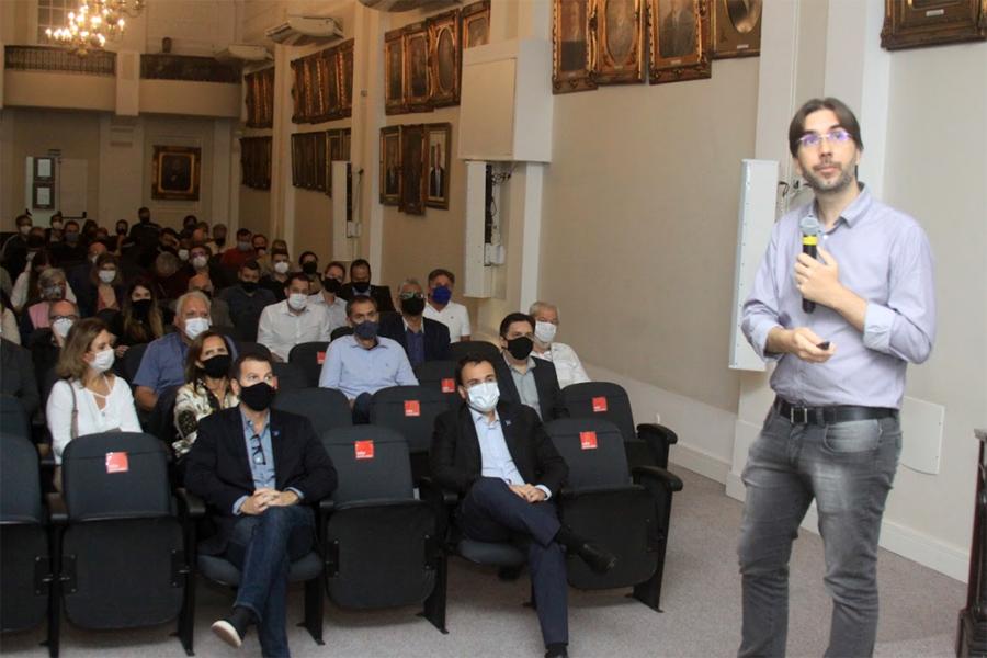 Projeto de revitalização do Centro de Santos é apresentado a empresários e comerciantes   Santa Portal