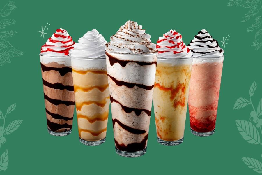 Starbucks lança cinco sabores inéditos para comemorar aniversário   Santa Portal