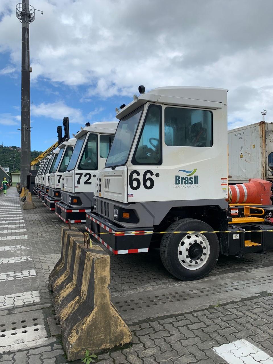 BTP amplia frota com a aquisição de novos equipamentos portuários   Santa Portal