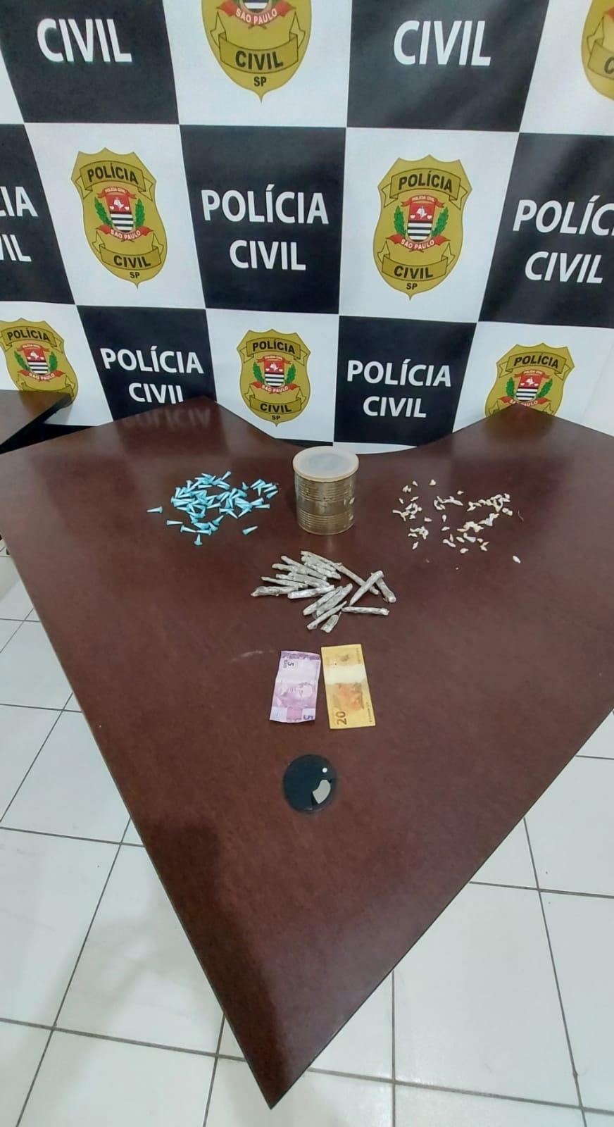 Rapaz é preso com mais de 100 porções de drogas em Mongaguá   Santa Portal