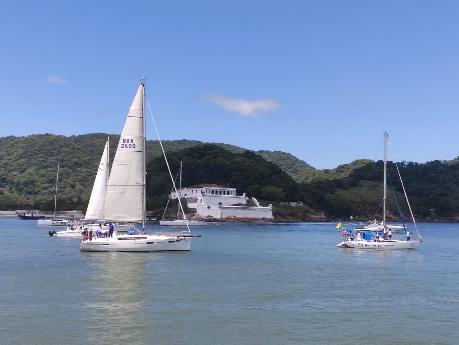 Regata Santos-Rio leva público ao êxtase antes dos desafios do vento leste   Santa Portal
